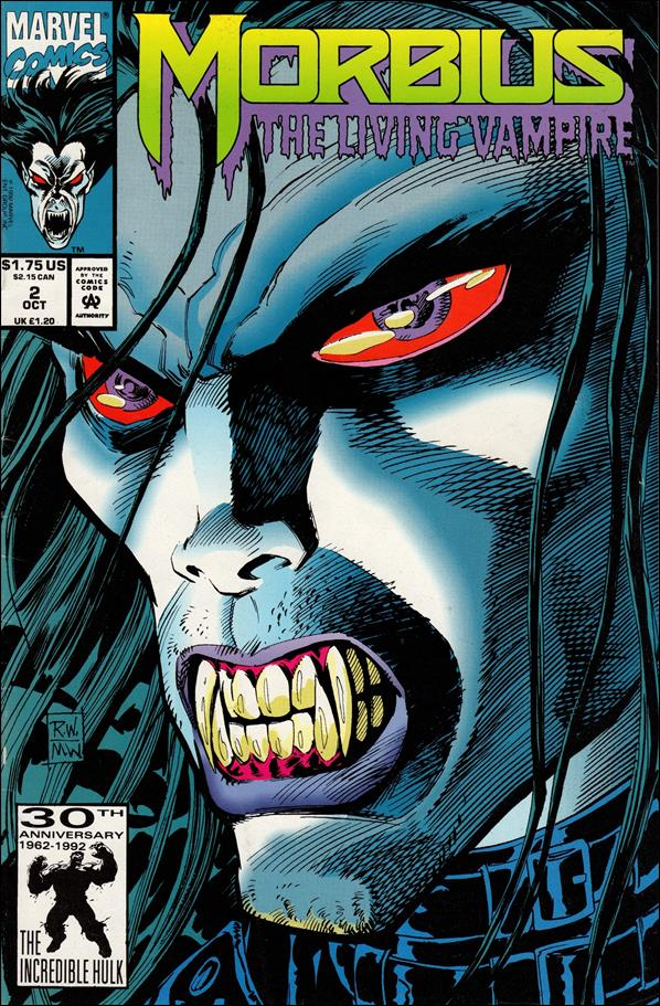 Morbius: The Living Vampire (1992) 2-A by Marvel