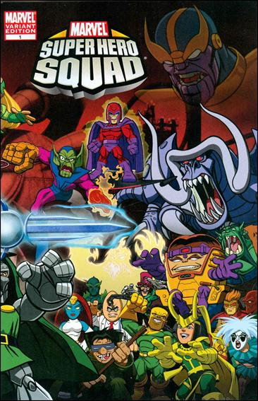 Marvel Super Hero Squad (2010) 1-B by Marvel