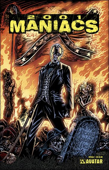 2001 Maniacs Special 1-A by Avatar Press