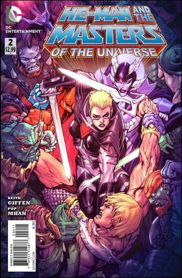 He-Man and the Masters of the Universe (2013) 2-A by DC