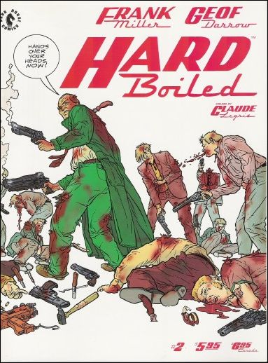 Hard Boiled 2-A by Dark Horse