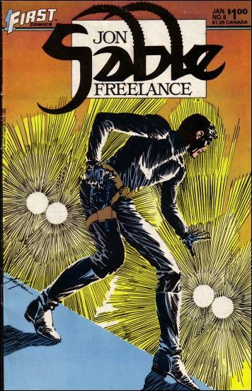 Jon Sable, Freelance 8-A by First