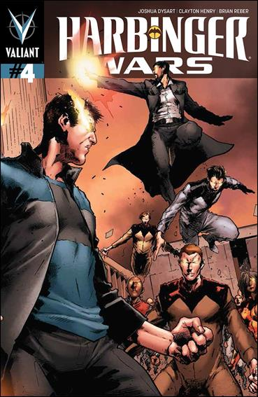 Harbinger Wars 4-B by Valiant Entertainment