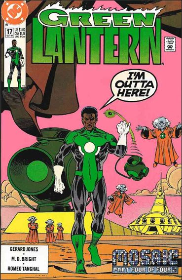 Green Lantern (1990) 17-A by DC