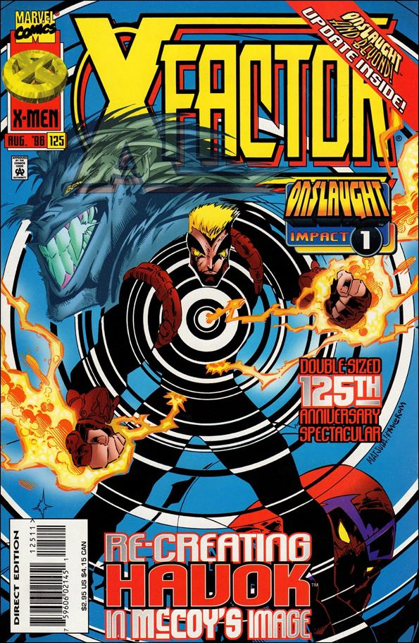X-Factor (1986) 125-A by Marvel