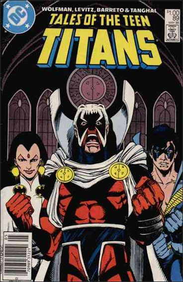 Tales of the Teen Titans 89-A by DC