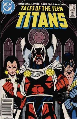 Tales of the Teen Titans 89-A
