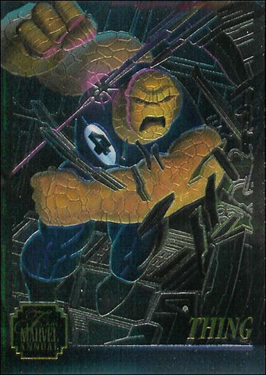 Marvel Annual Flair '95 (Chromium Subset) 4-A by Fleer