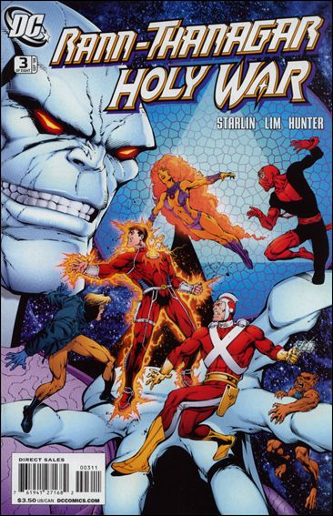Rann/Thanagar Holy War 3-A by DC