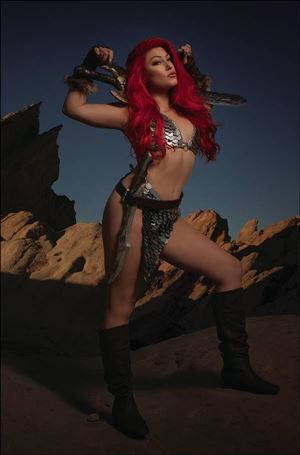 Red Sonja: The Superpowers 4-S
