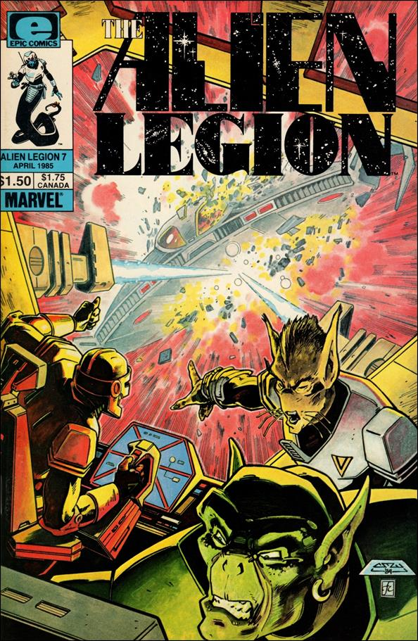 Alien Legion (1984) 7-A by Epic