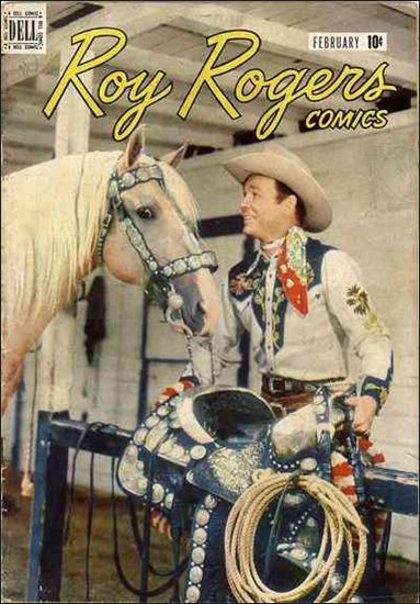 Roy Rogers Comics 2-A by Dell