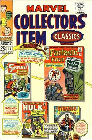 Marvel Collectors' Item Classics 11-A