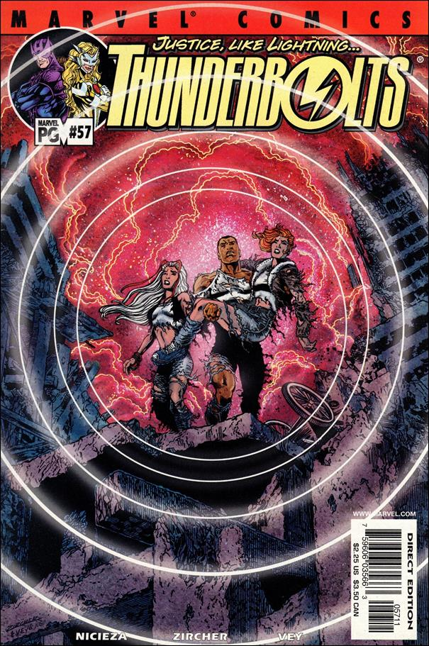 Thunderbolts (1997) 57-A by Marvel