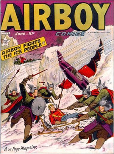Airboy Comics (1949) 5-A by Hillman
