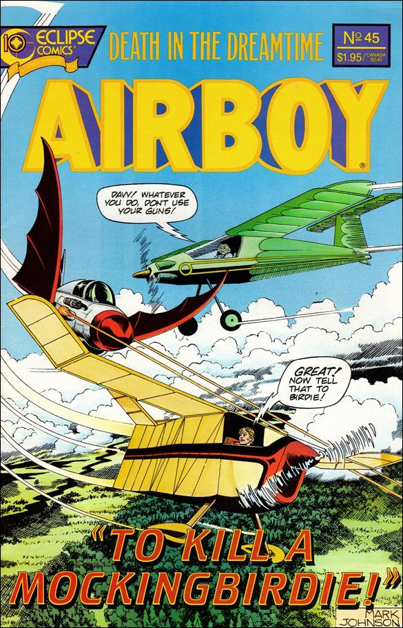 Airboy (1986) 45-A by It's Alive Press