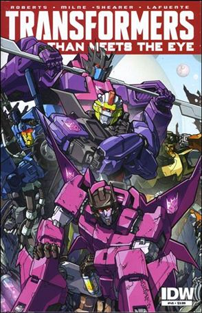 Transformers: More Than Meets the Eye (2012) 45-A