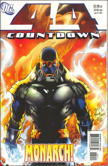 Countdown (2007) 44-A by DC