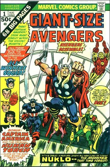 Giant-Size Avengers 1-A by Marvel