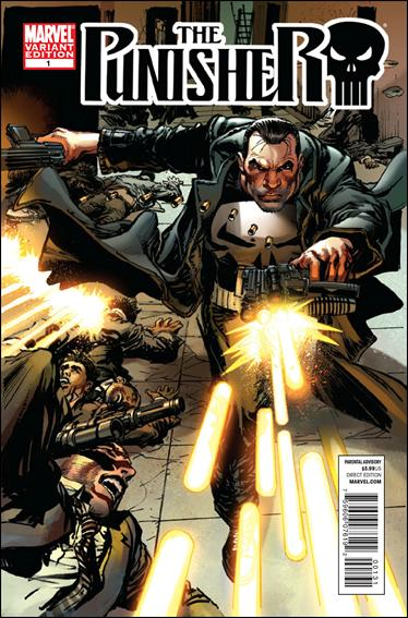 Punisher (2011) 1-C by Marvel