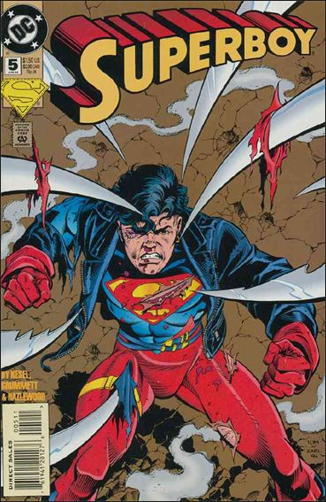 Superboy (1994) 5-A by DC