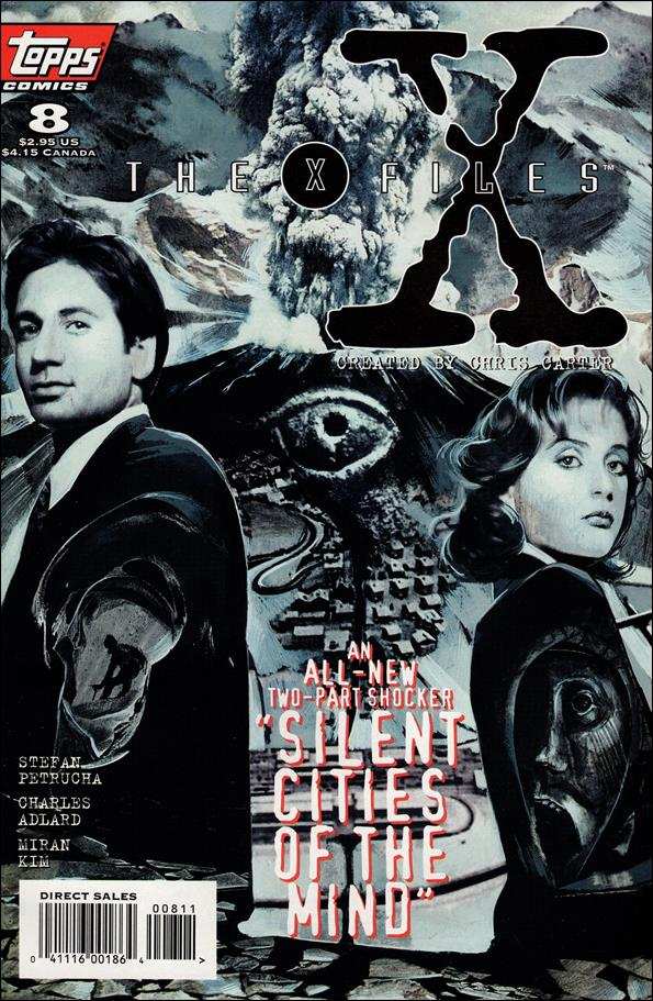 X-Files (1995) 8-A by Topps