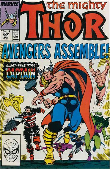 Thor (1966) 390-A by Marvel