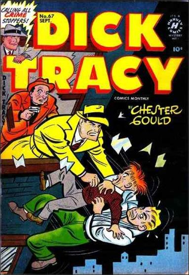Dick Tracy Comics Monthly 67-A by Harvey