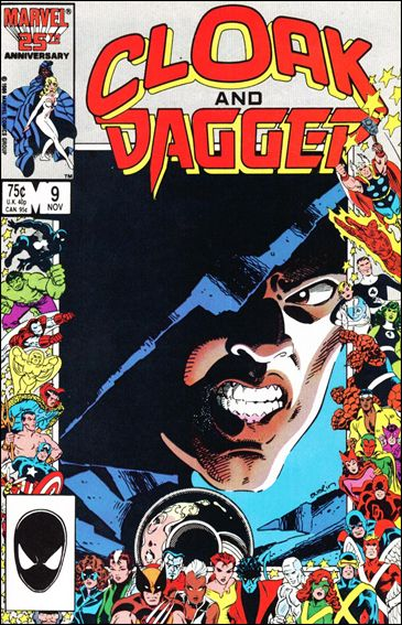 Cloak and Dagger (1985) 9-A by Marvel