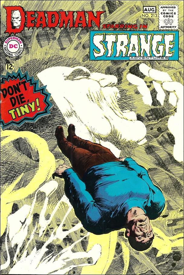 Strange Adventures (1950) 213-A by DC