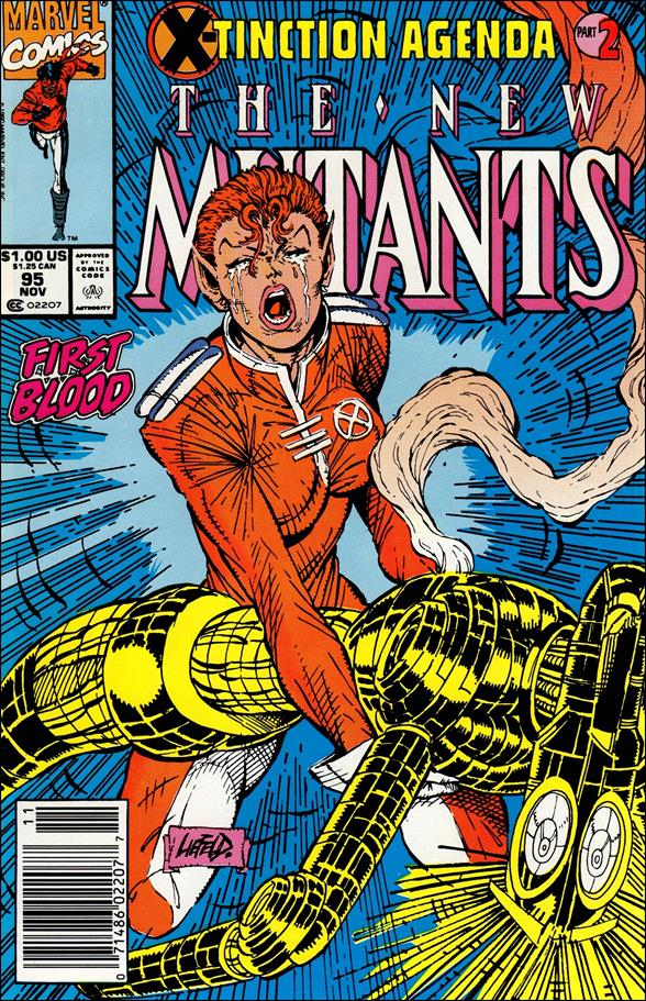 New Mutants (1983) 95-A by Marvel
