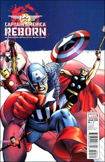 Captain America: Reborn 4-C by Marvel