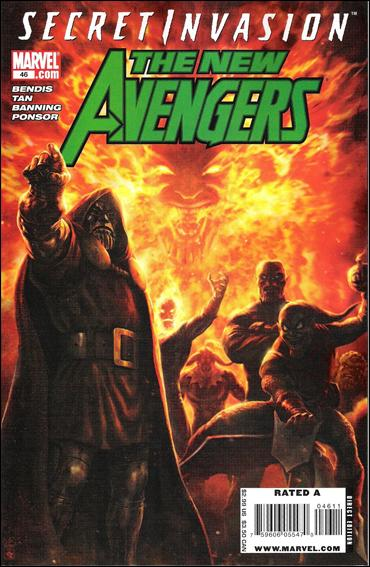 New Avengers (2005) 46-A by Marvel