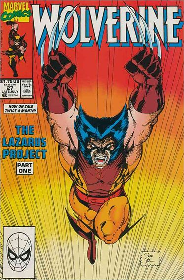 Wolverine (1988)  27-A by Marvel