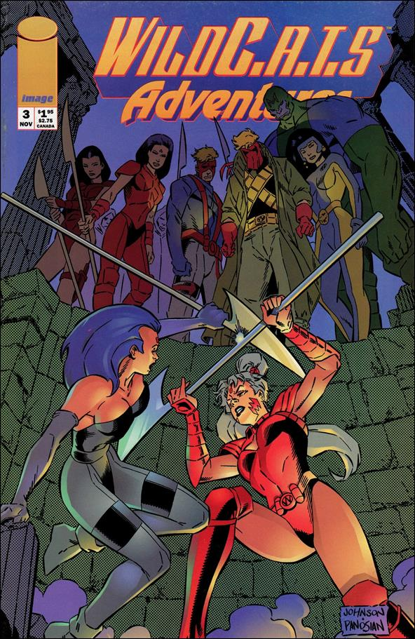 WildC.A.T.s Adventures 3-A by Image