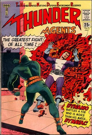 T.H.U.N.D.E.R. Agents (1966) 2-A by Tower