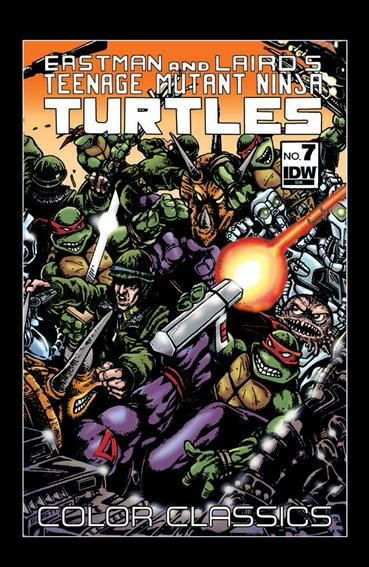 Teenage Mutant Ninja Turtles Color Classics 7-A by IDW