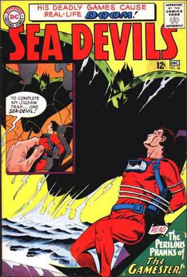 Sea Devils 26-A by DC