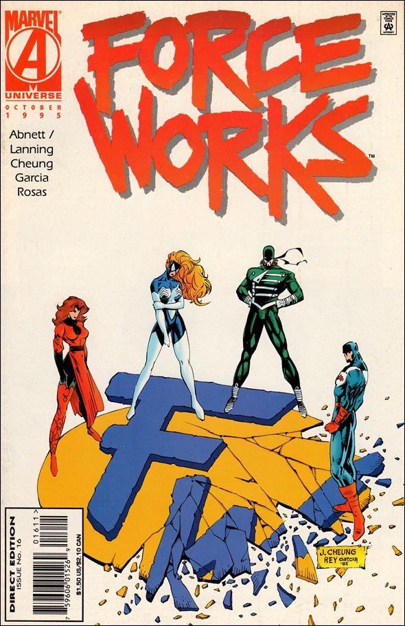 Force Works 16-A by Marvel