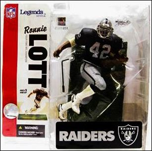 NFL Legends Series 2 Ronnie Lott Oakland Raiders (Chase Figure)
