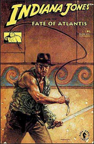 Indiana Jones and the Fate of Atlantis 1-B by Dark Horse