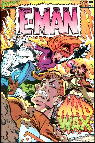 E-Man (1983) 8-A by First