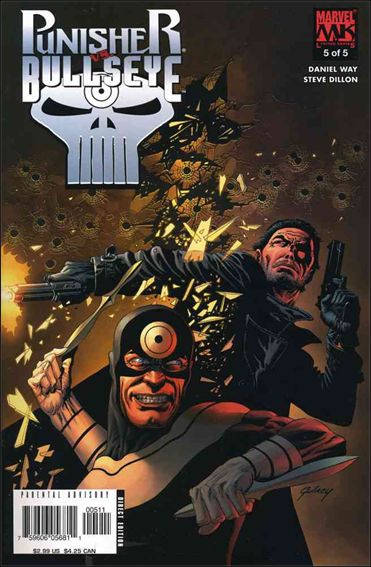 Punisher vs Bullseye 5-A by Marvel
