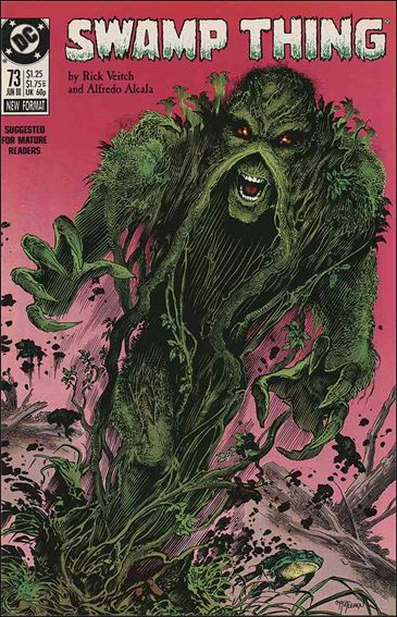 Swamp Thing (1986) 73-A by Vertigo