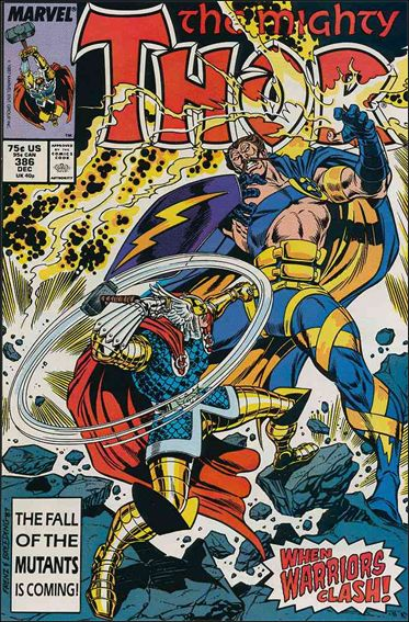 Thor (1966) 386-A by Marvel