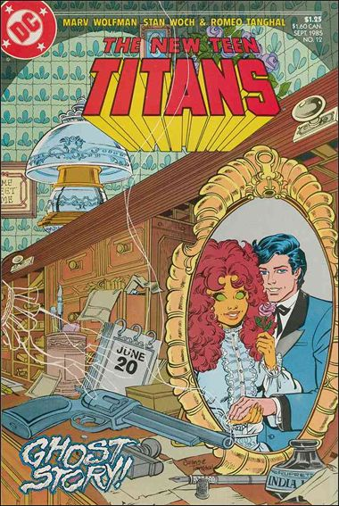 New Teen Titans (1984) 12-A by DC