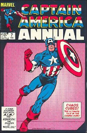 Captain America Annual 7-A