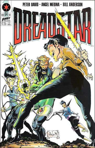 Dreadstar (1982) 64-A by Epic