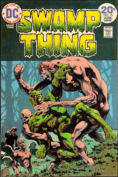 Swamp Thing (1972) 10-A by DC