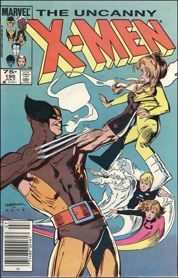Uncanny X-Men (1981) 195-B by Marvel